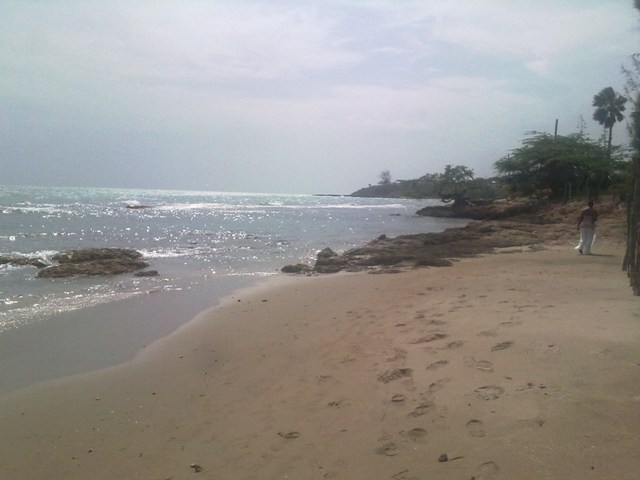 View from Jack Sprats Treasure Beach Jamaica