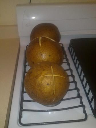 My oven roasted/baked breadfruits