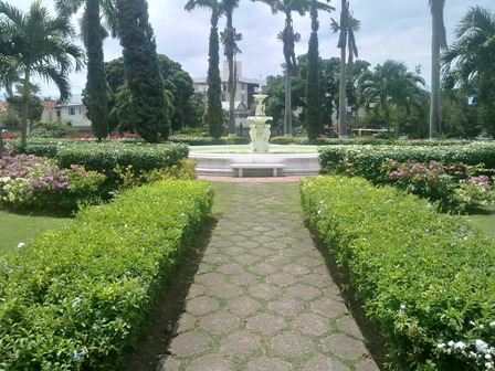 Devon House Grounds Kingston Jamaica