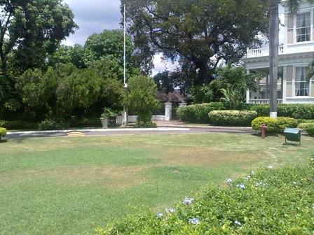 Side view Devon House Kingston Jamaica