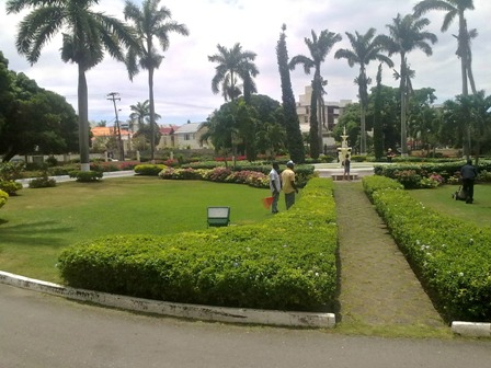 Grounds Devon House Kingston Jamaica