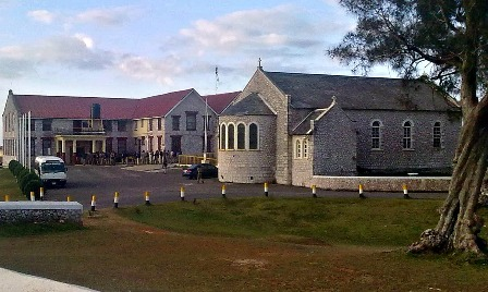 Munro College St Elizabeth with Chapel