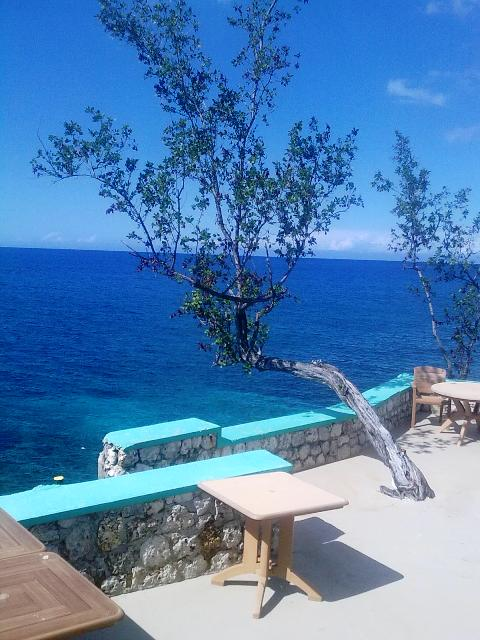 View from Xtabi Restaurant Negril