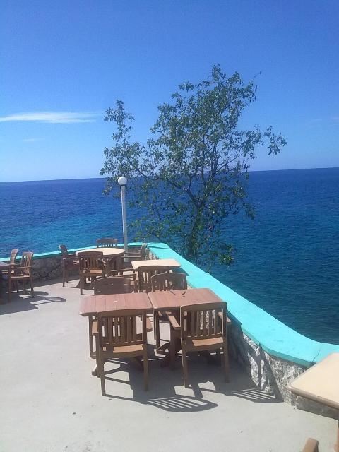 View from Xtabi Restaurant West End Negril Jamaica