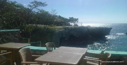 View from Xtabi Restaurant Negril Jamaica