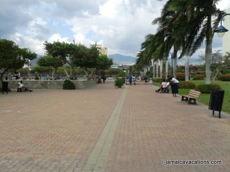 Emancipation Park Kingston Jamaica