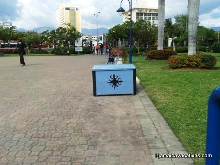 Emancipation Park Kingston Jamaica