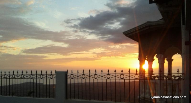 South west coast Jamaica sunset