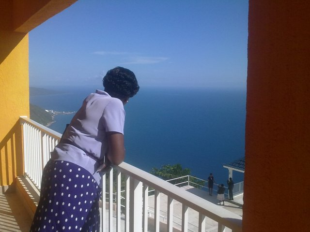 View from Seaview Hotel St Elizabeth Jamaica1