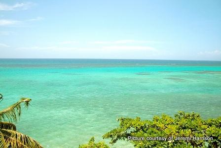View of Ocho Rios Bay Jamaica
