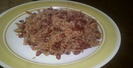 Red Beans Rice and Peas