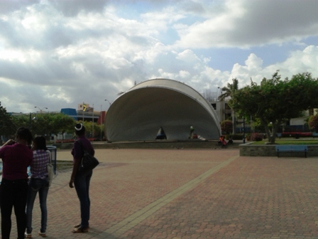 The Stage at Emancipation Park