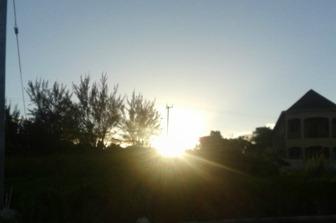 Sunrise in Potsdam