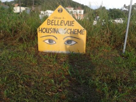 Bellevue Housing Scheme Neighbourhood Watch Sign