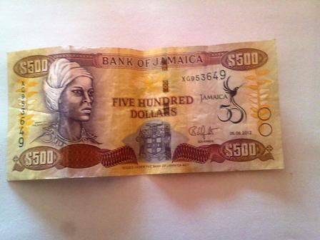 J$500.00