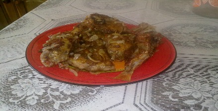 Jamaican Escovietch Fish (seasoned fried fish)