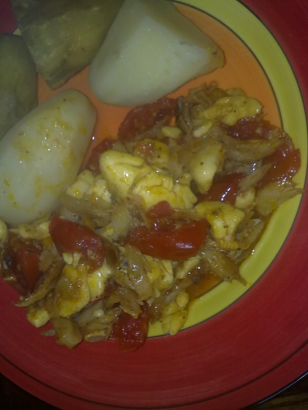 Ackee and saltfish jamaica s national dish for Salt fish ackee