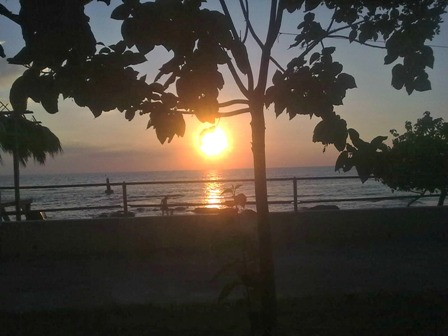 Sunset at Frenchman's Bay St Elizabeth Jamaica