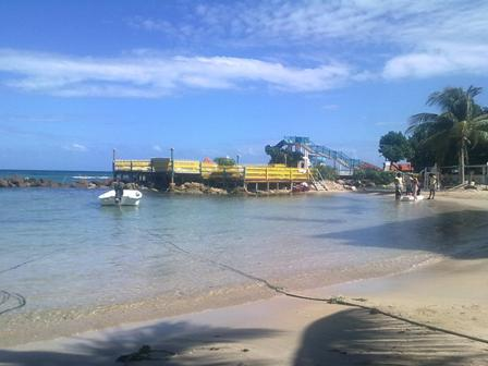 Beach FDR Runaway Bay Jamaica