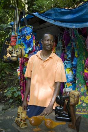 Jamaican  Craft Vendor