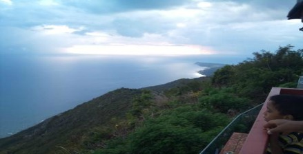 View from Lovers Leap St Elizabeth