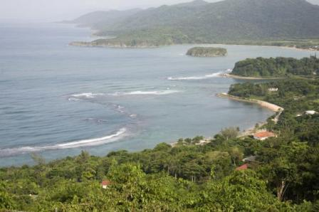 View from Firefly Oracabessa St Mary