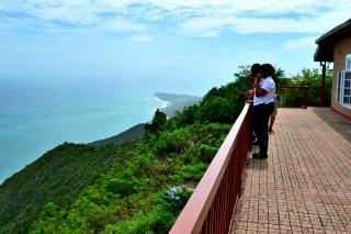 Lovers Leap Restaurant Balcony South Coast Jamaica