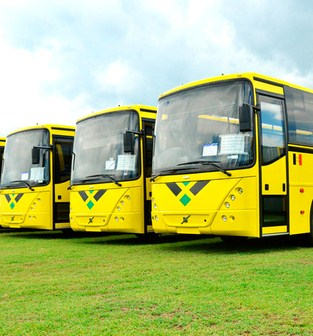 Urban Transport buses Kingston Jamaica