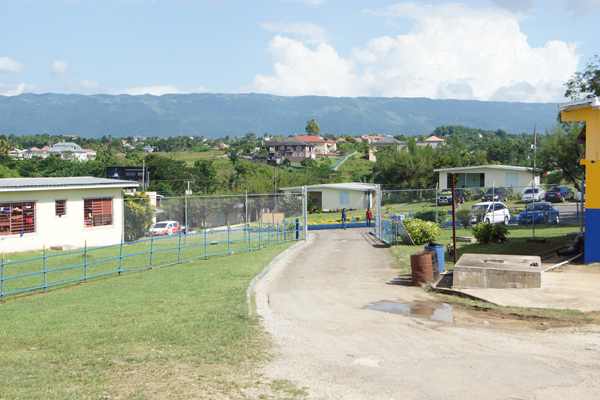 View from St Elizabeth Technical High School