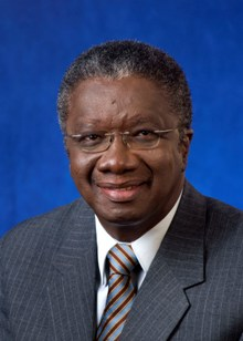 The Honourable Freundel Stuart, QC MP  Prime Minister, Barbados