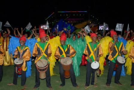 Jamaican cultural musicians