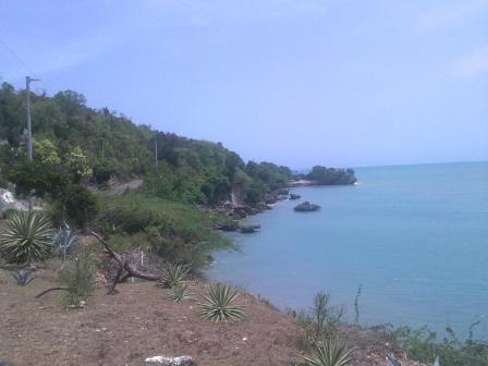 Cliff View at Fort Charles area