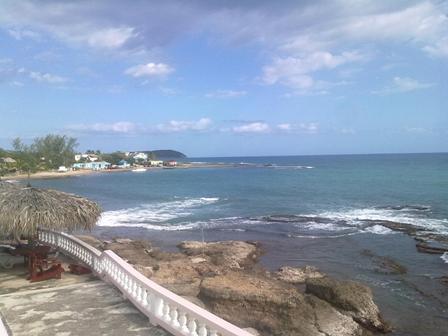 View from Sunset Resort Treasure Beach